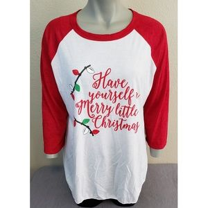 Have Yourself A Merry Little Christmas Tee New